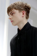 Dior Homme 2012 mens hairstyle trends spring summer collection www izandrew blogspot com izandrew 2