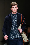 Burberry Prorsum 2012 mens hairstyle trends www izandrew blogspot com izandrew 2