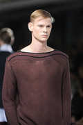 Dries Van Noten 2012 mens hairstyle trends spring summer collection www izandrew blogspot com izandrew 5