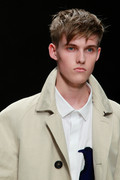 Burberry Prorsum 2012 mens hairstyle trends www izandrew blogspot com izandrew 5
