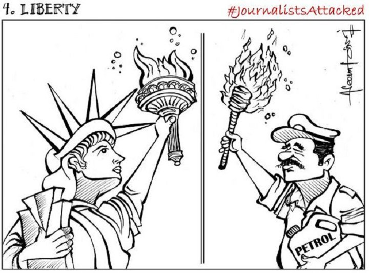 Ten Powerful Cartoons Against The Recent Attacks On