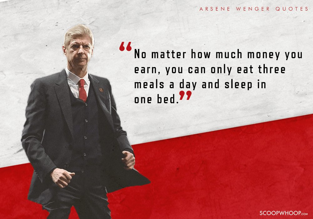 25 Quotes By Arsene Wenger That Show Why Hes Called The