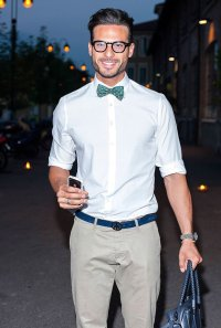 These Gorgeous Men Sporting Bow Ties Will Make You Want To ...