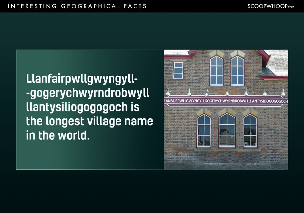 18 Interesting Geographical Facts You Probably Had No Idea About