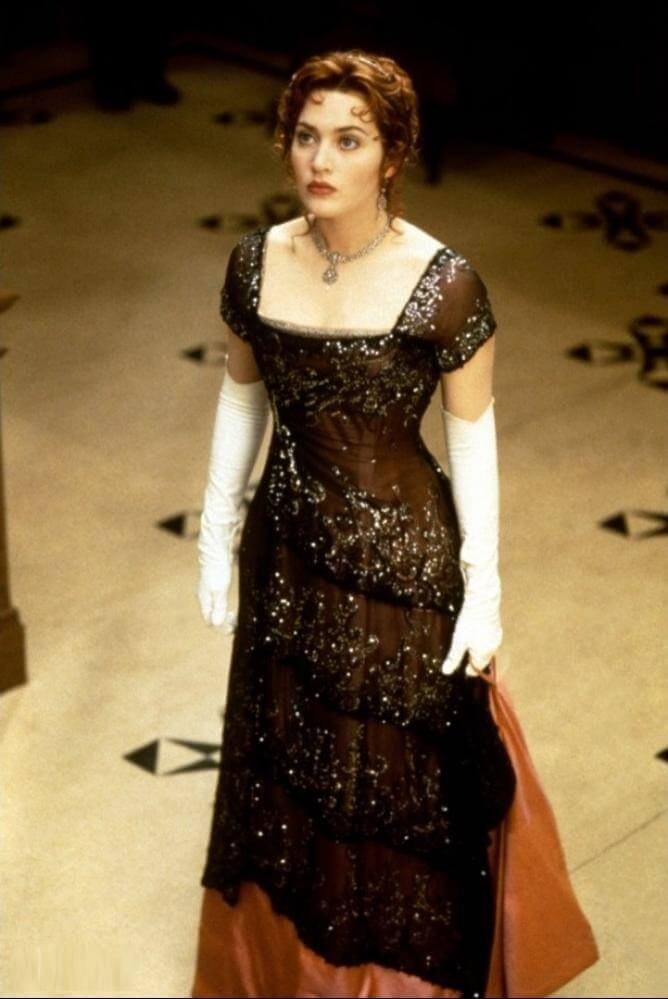 vestidos de películas de Hollywood