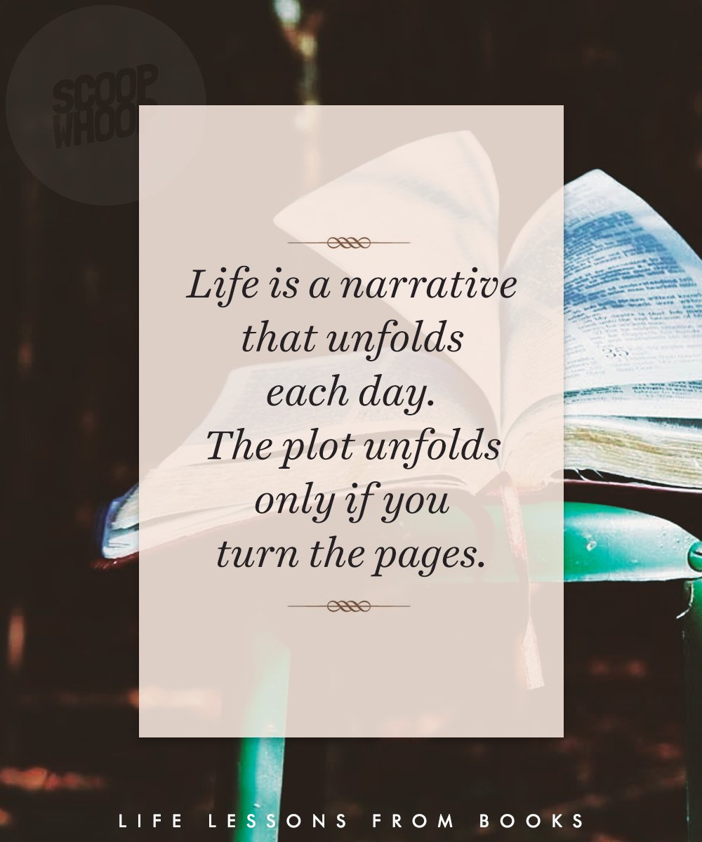 Lessons Happens Life Life
