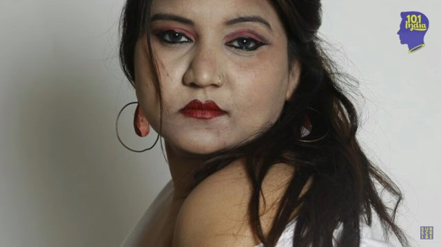 Originally From A Fairly Conservative Family Pooja Was Married Off At The Tender Age Of 14 After Her Husband Left Her Pooja Worked As A Make Up Artist