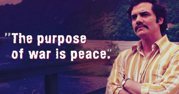 Pablo Escobar Quotes Wallpaper 16 Badass Quotes That Ll Remind You Why Narcos Is The Most