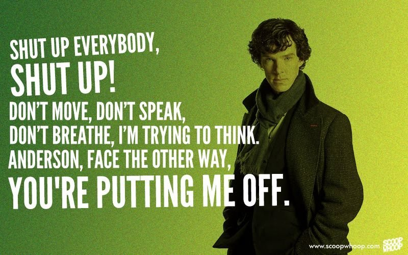 Sherlock Wallpaper Quotes On Benedict Cumberbatch S Birthday We Look Back At The 20