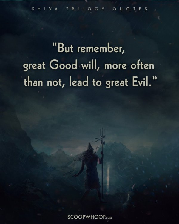 Quotes Shiva Trilogy Ll Make Good