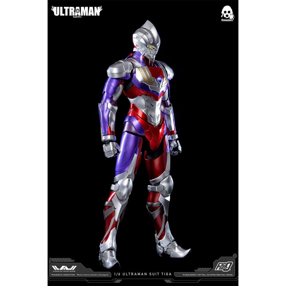 ThreeZero Ultraman FigZero 1/6 Scale Collectible Figure - Ultraman Suit Tiga