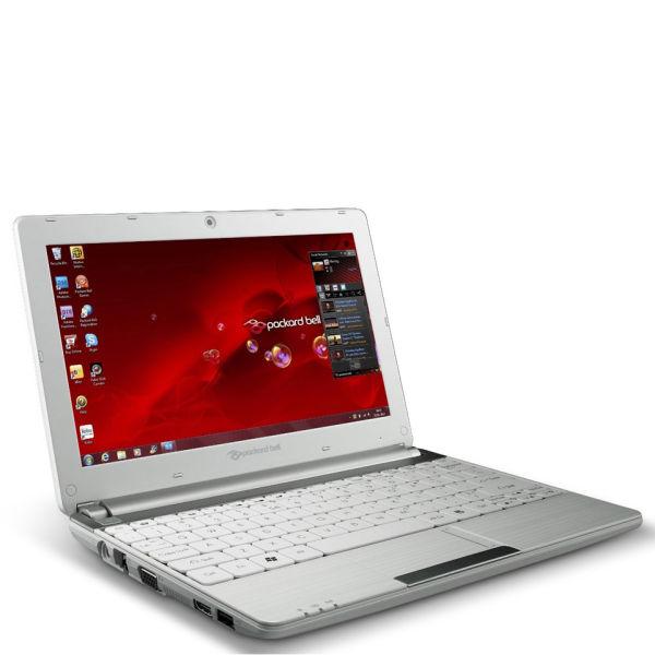 Packard Bell Dot 101 Inch SCAtom Netbook N2600 1GB RAM