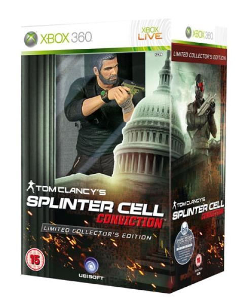 Tom Clancys Splinter Cell Conviction Limited Edition