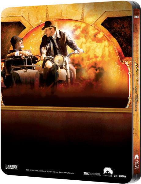 Indiana Jones And The Last Crusade Zavvi Exclusive