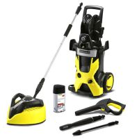 Karcher - K5 Pressure Washer with T400 Patio Cleaner ...