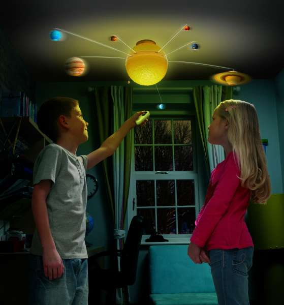 Remote Control Illuminated Solar System  IWOOT