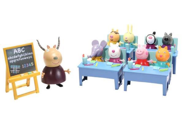 Peppa Pig Classroom Playset Toys  TheHutcom