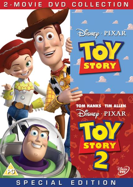 Toy Story 1 and 2 Box Set DVD Zavvi