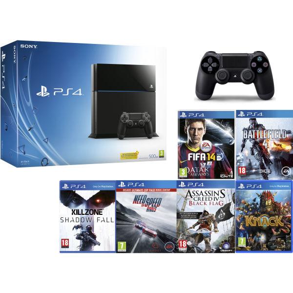 PS4: New Sony PlayStation 4 - Hardcore Gamer Bundle Games Consoles   Zavvi.com