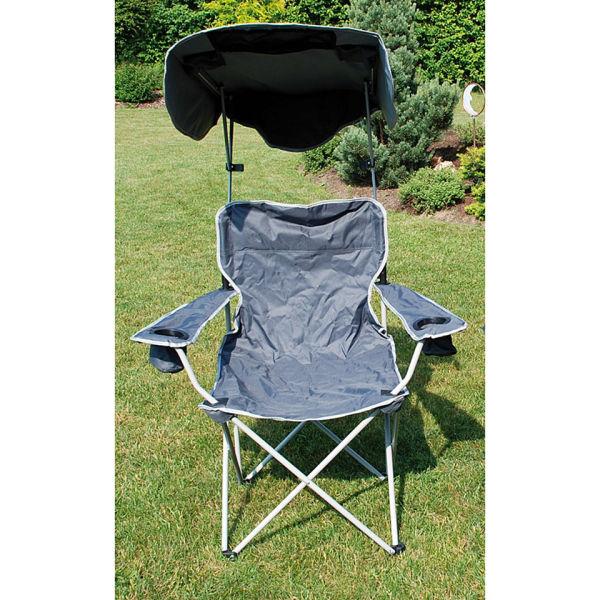 Quik Shade Canopy Chair  Grey Garden  Zavvi