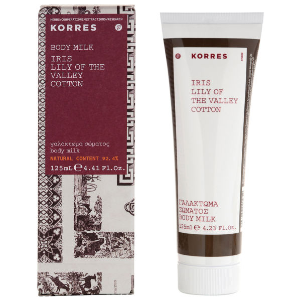 KORRES Iris Lily Of The Valley And Cotton Body Lotion