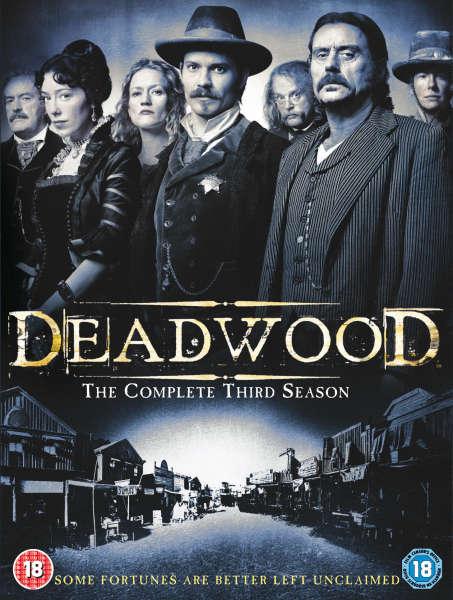 Deadwood Season 3 DVD Zavvi
