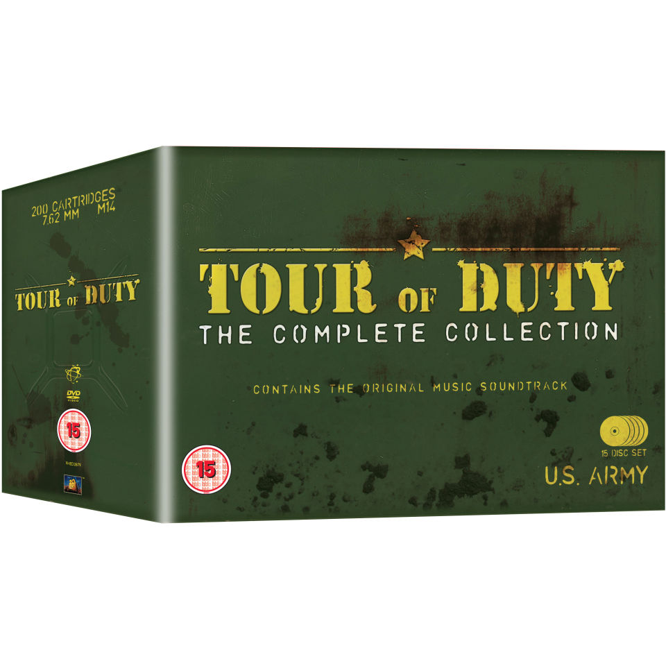 Tour Of Duty The Complete Series DVD Zavvi