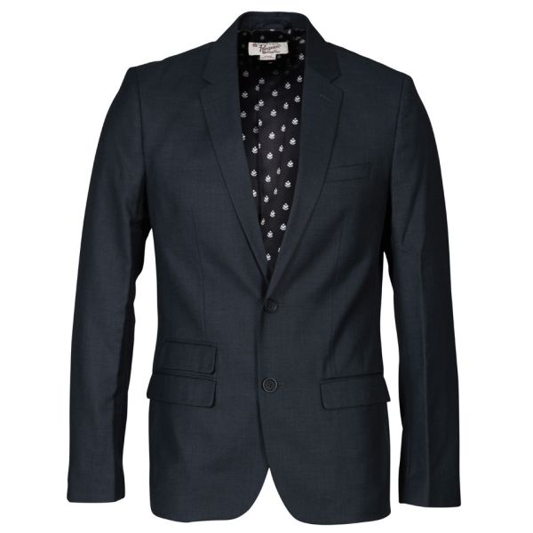 Teal Blazer Outfit Men