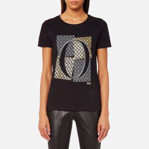 BOSS Orange Women's Tushirti T-Shirt - Black