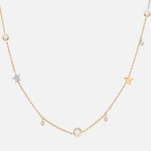Missoma Women's Interstellar Star Drop Necklace - Gold