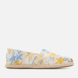TOMS Women's Alpargata Tribal Print Espadrilles - Birch Tropical Palm