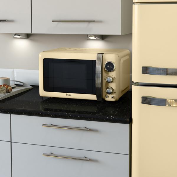 all in one kitchen appliances green swan sm22030cn digital microwave - cream 800w homeware ...