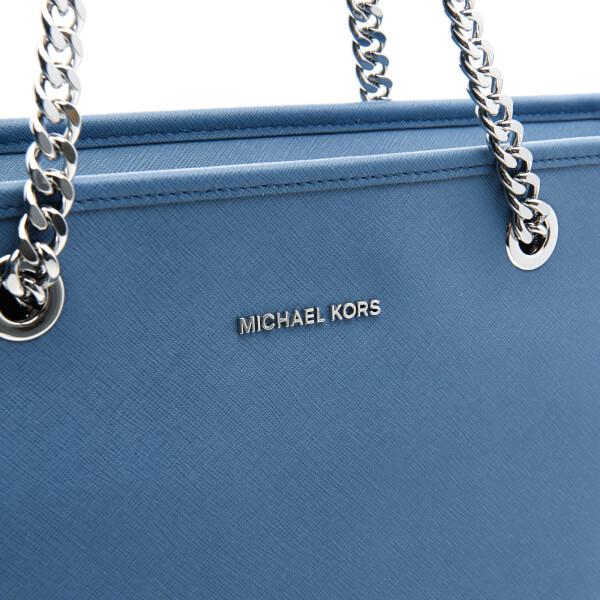 MICHAEL MICHAEL KORS Womens Jet Set Travel Chain Top Zip