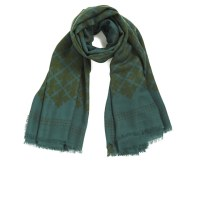 By Malene Birger Women's Printed Scarf - Green