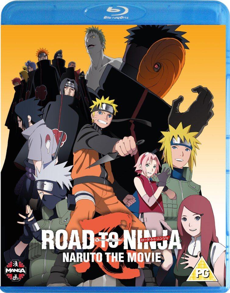 naruto the movie road