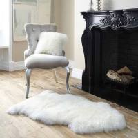 Royal Dream Large Sheepskin Rug - Neutral | IWOOT