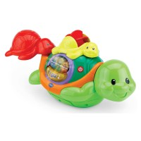 Vtech Baby Safe Turtle Bath Thermometer Toys | Zavvi
