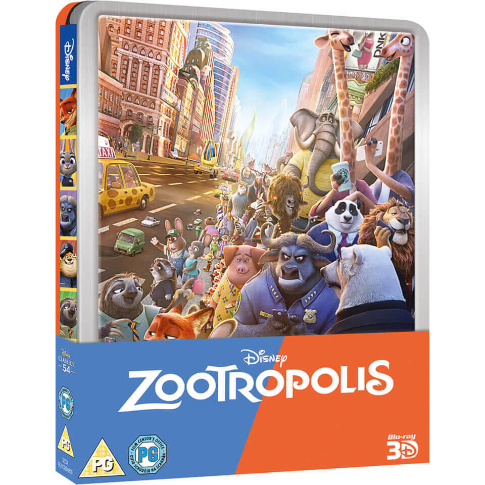 Zoomania Bettwäsche zoomania - (uk Edition) Limited Edition Steelbook Blu-ray ...