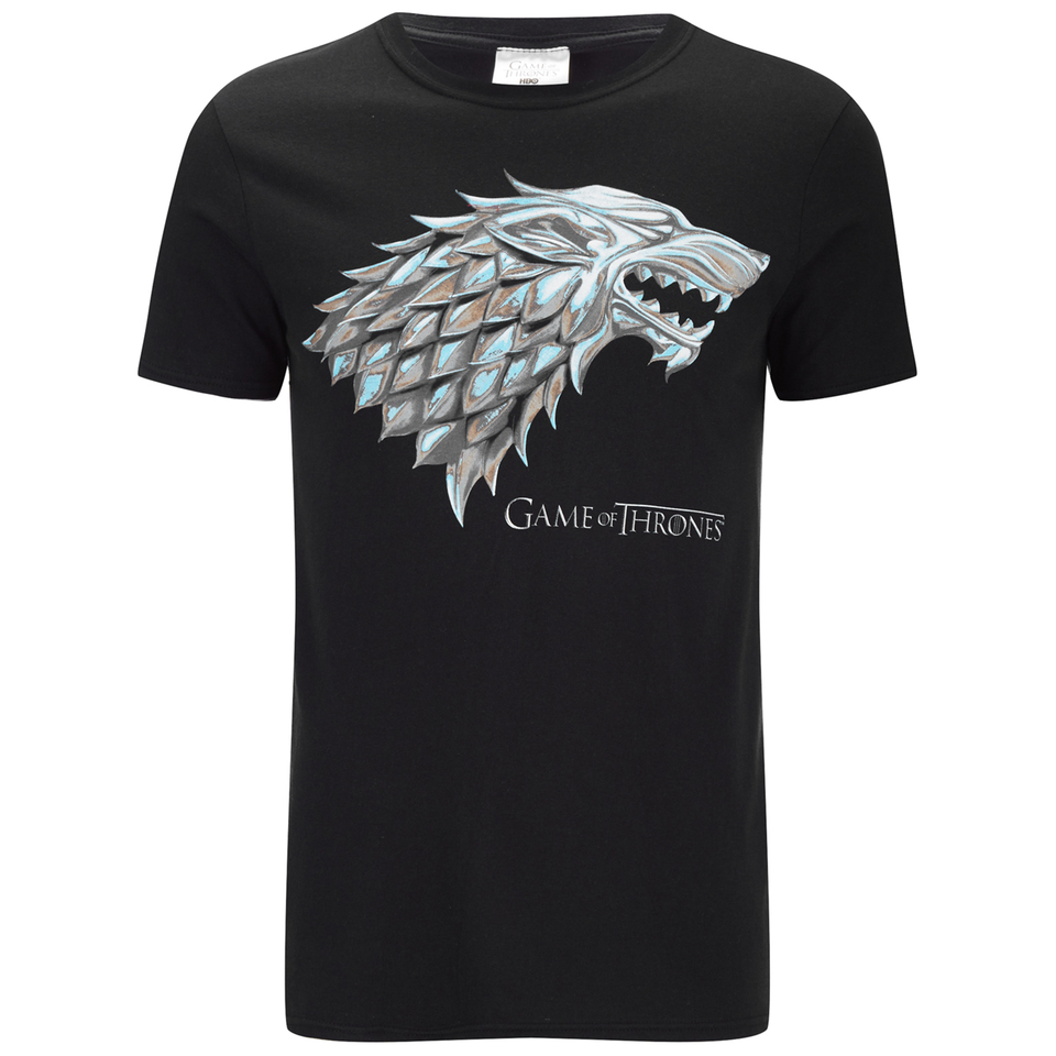 Game Of Thrones Mens Stark Sigil T Shirt Black IWOOT