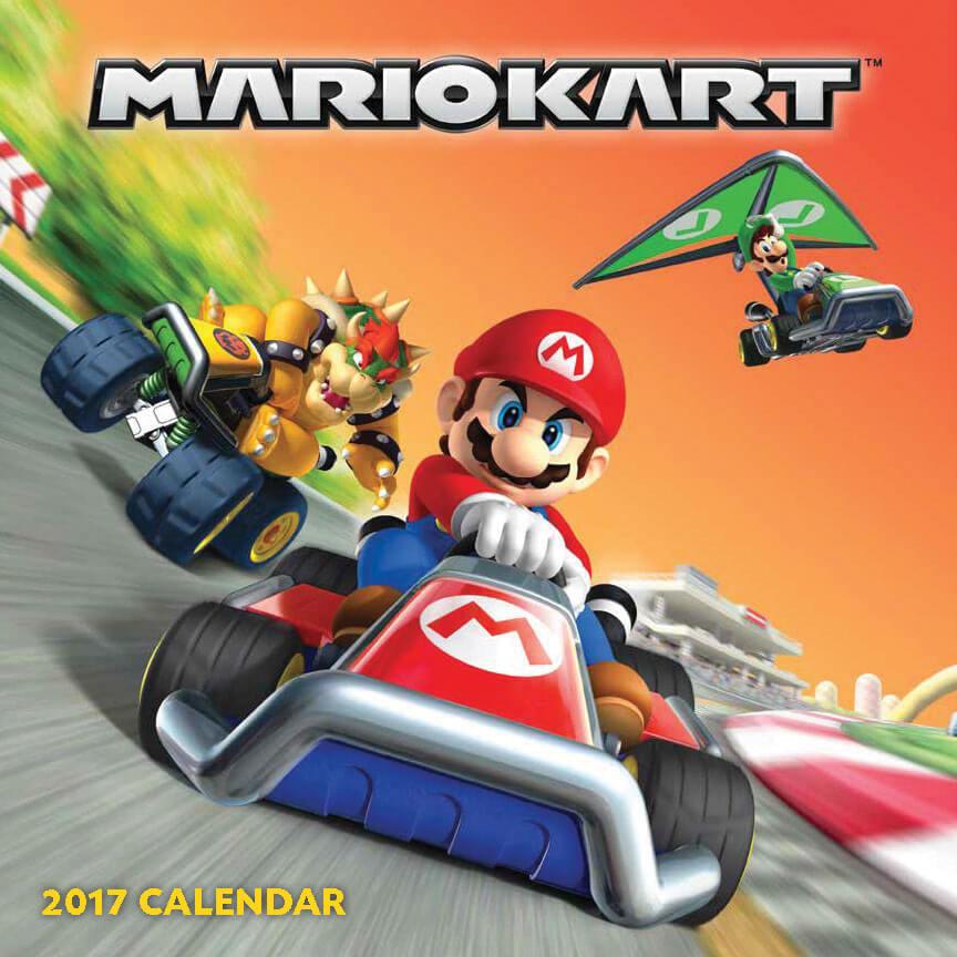 Mario Kart Calendar 2017  Nintendo Official UK Store