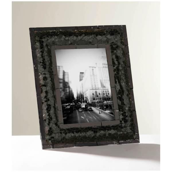 Mosaic Photo Frame Black