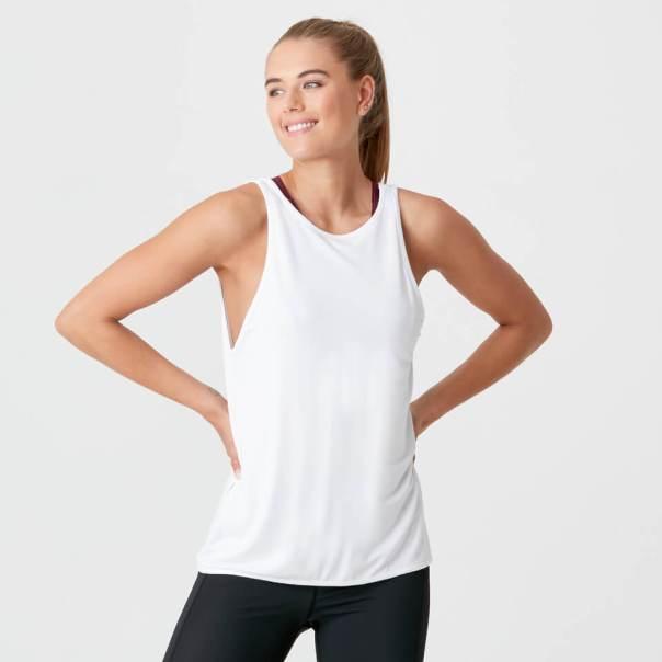 Charm Vest - S - Blanco