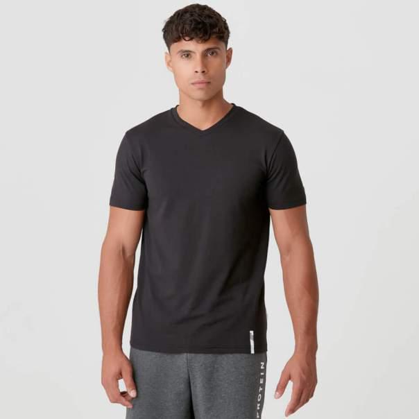 Luxe Classic con cuello en V - XS - Negro