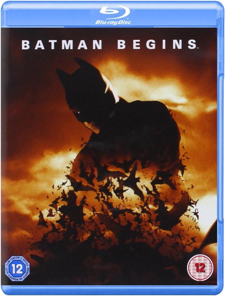 Batman Begins Blu Ray Zavvi