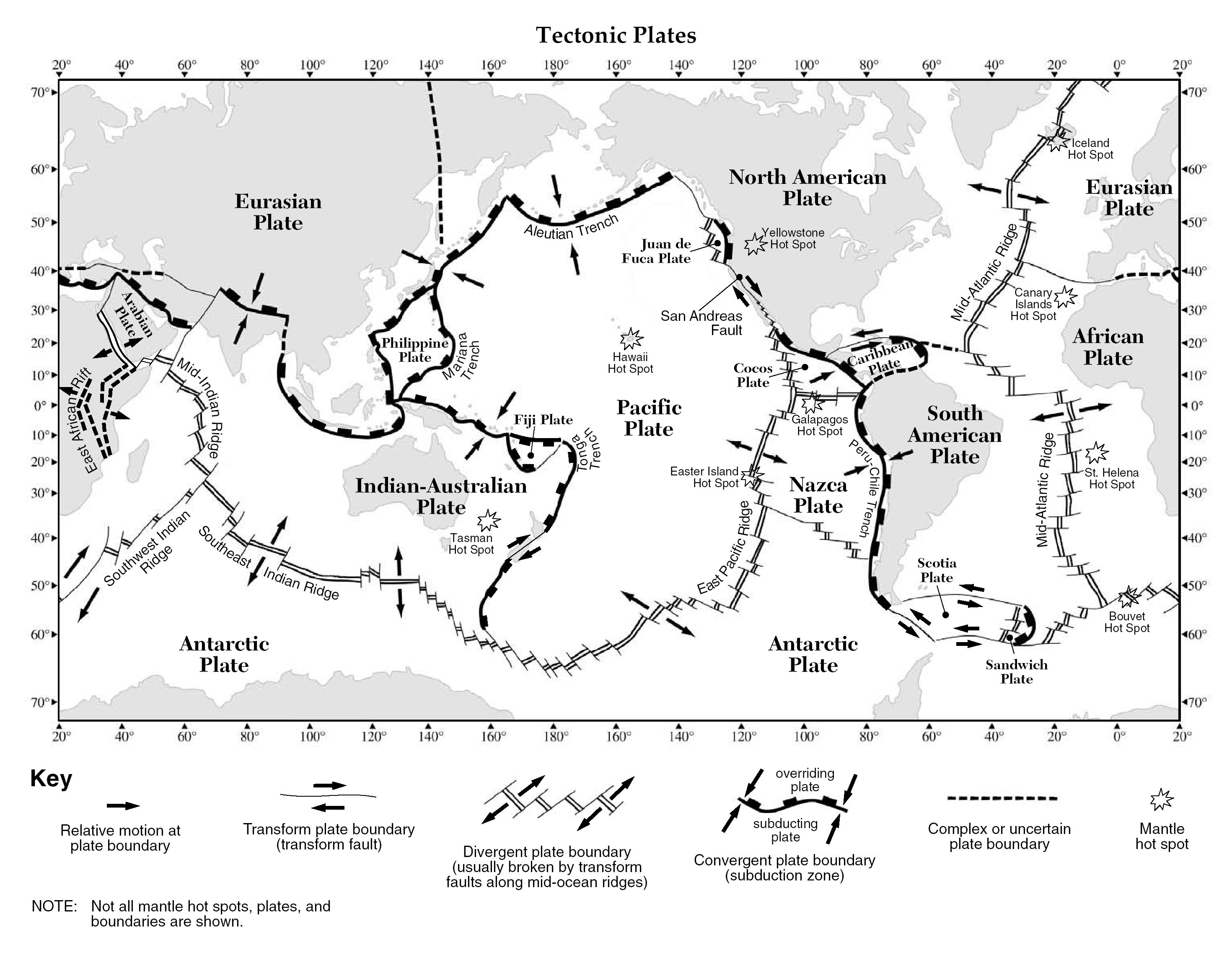 Worksheet Plate Tectonics Worksheets For Middle School