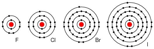 Bohr Diagram For Calcium Chloride Ocr Gateway C4 The Periodic Table