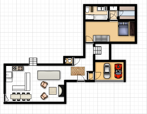 tiny house kitchens menards kitchen sinks 卧室 客厅 小房子 ce suo 饭厅 大房子 厨房 厕所 小房子厨房
