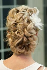 Updo Hair Model - Curly Updo //// Photo By: Giao Nguyen ...