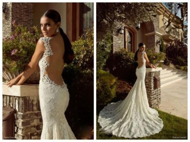 Nixe-Spitze Rückenfrei Brautkleid Brautjungfern Abendkleid