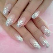 wedding nail design - bridal